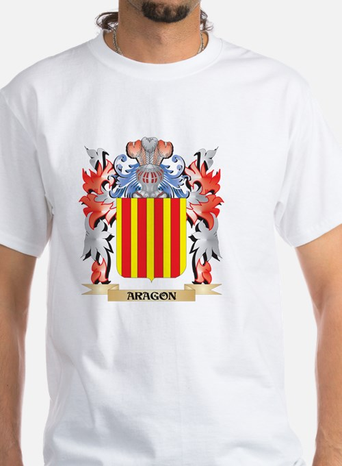 Aragon Coat of Arms - Family Crest T-Shirt