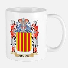 Aragon Coat of Arms - Family Crest Mugs