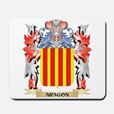 Aragon Coat of Arms - Family Crest Mousepad