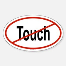TOUCH Oval Decal