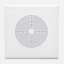 Labyrinth Tile Coaster