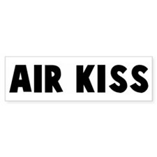 Air kiss Bumper Bumper Sticker