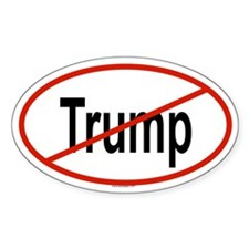 TRUMP Oval Bumper Stickers