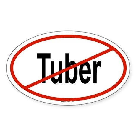 TUBER Oval Sticker
