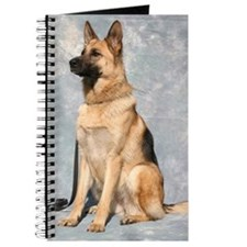 Cute German shepherd dog Journal