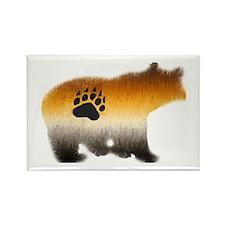 BEAR PRIDE FURRY BEAR 2 Rectangle Magnet