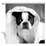Boston terrier Shower Curtains