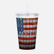 The Resistance Acrylic Double-wall Tumbler