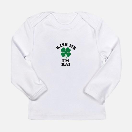 Kiss me I'm KAI Long Sleeve T-Shirt
