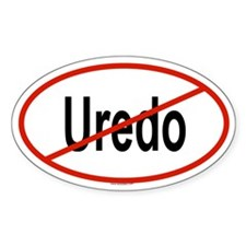 UREDO Oval Decal