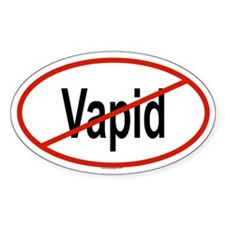 VAPID Oval Decal