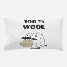 Funny Sheep Wool Cartoon Pillow Case