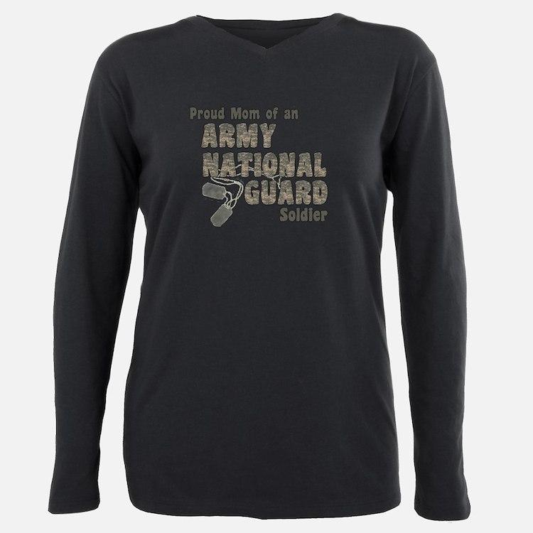 National Guard Mom (tags) T-Shirt