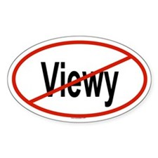 VIEWY Oval Decal