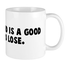 A closed mind is a good thing Mug