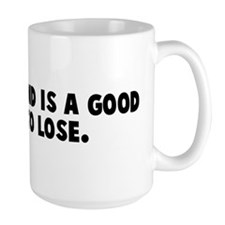 A closed mind is a good thing Mug