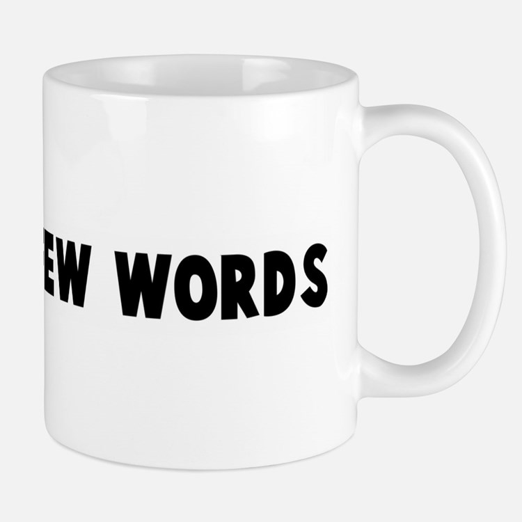 A man of few words Mug