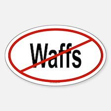 WAFFS Oval Decal