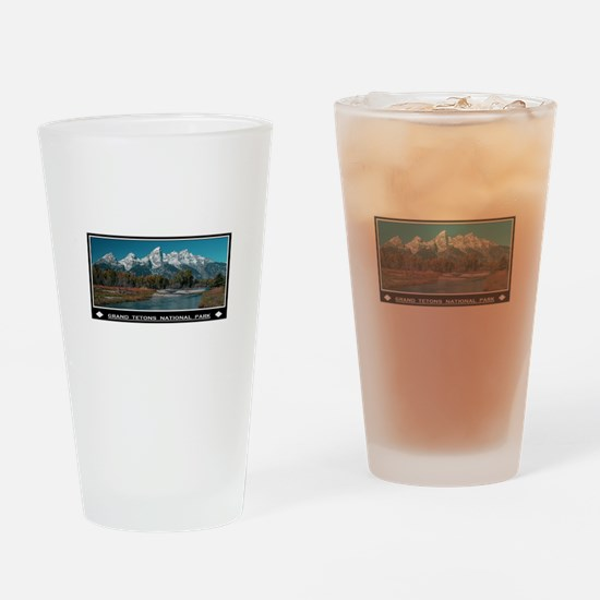 TETONS Drinking Glass