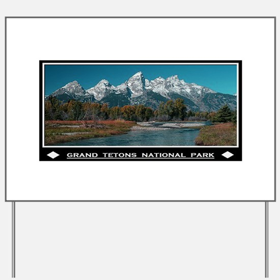 TETONS Yard Sign