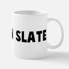 A clean slate Mug