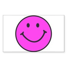 Happy Smiley Face | Rectangle Decal