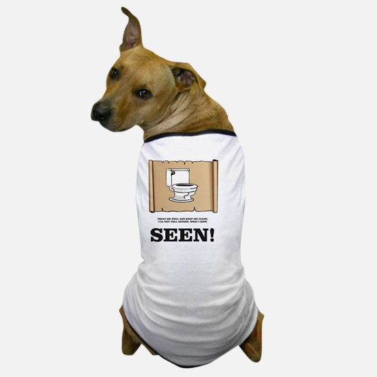 Unique Gross joke Dog T-Shirt