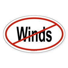 WINDS Oval Decal