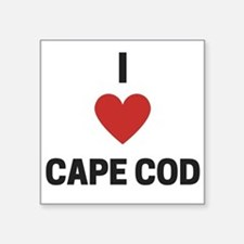 I Love Cape Cod Sticker