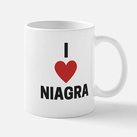 I Love Niagra Mugs