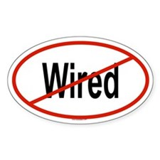 WIRED Oval Decal