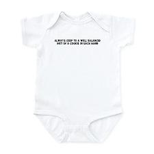 Always keep to a well balance Infant Bodysuit
