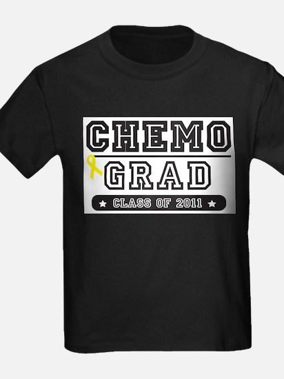 Chemo Grad - Yellow Ribbon T-Shirt