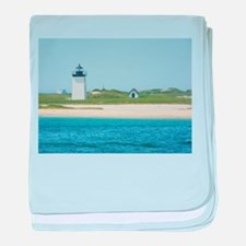 Race Point baby blanket