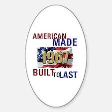 Cool Built Sticker (Oval)