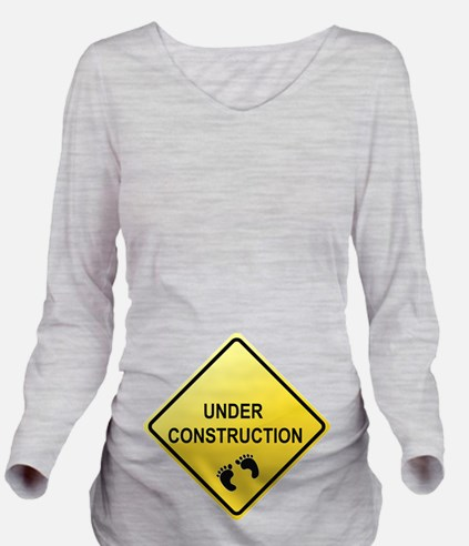 Pregnancy Gifts | Baby Under Construction T-Shirt