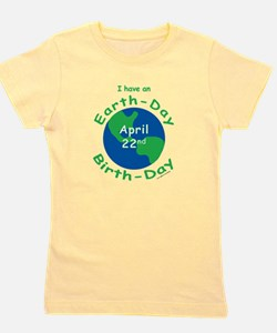 Earth Day Birthday T-Shirt