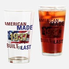 Cute 1937 Drinking Glass