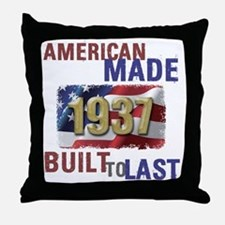 Cute America flag Throw Pillow
