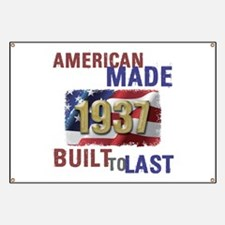 1937 American Made Banner