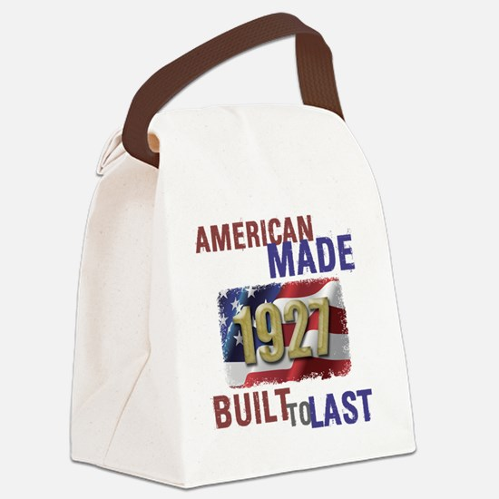 Unique 90th birthday Canvas Lunch Bag