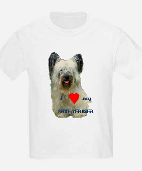 SKYE TERRIER LOVE Ash Grey T-Shirt