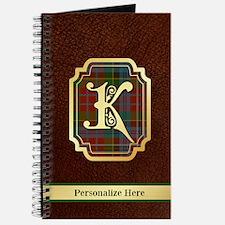 Kidd Custom Tartan Journal