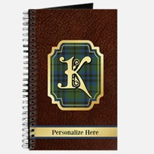Keith Custom Tartan Journal