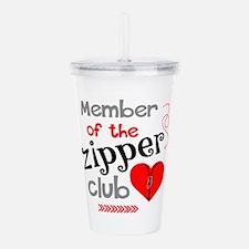 Member of the Zipper C Acrylic Double-wall Tumbler