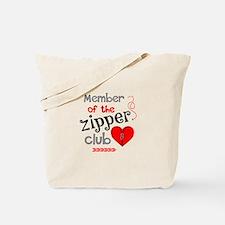 Member of the Zipper Club Tote Bag