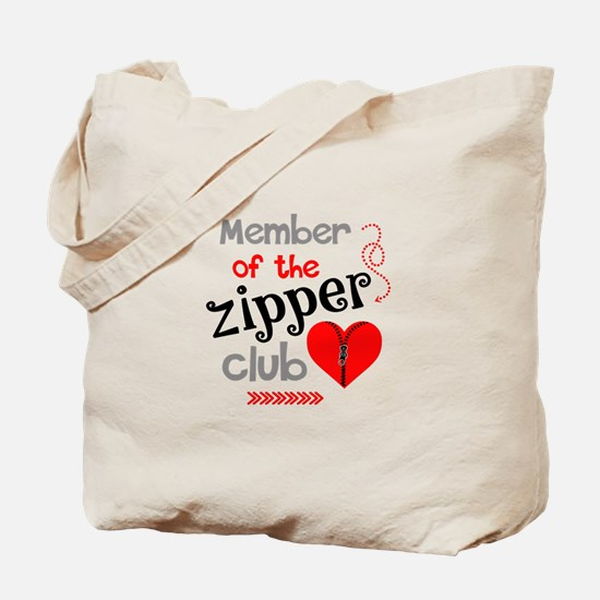 Member of the Zipper Club Tote Bag