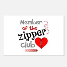 Member of the Zipper Club Postcards (Package of 8)