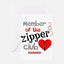 Member of the Zipper Club Greeting Cards