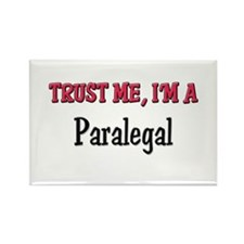 Trust Me I'm a Paralegal Rectangle Magnet